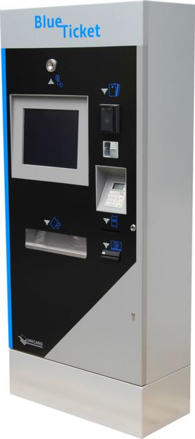 Automat biletowy BlueTicket