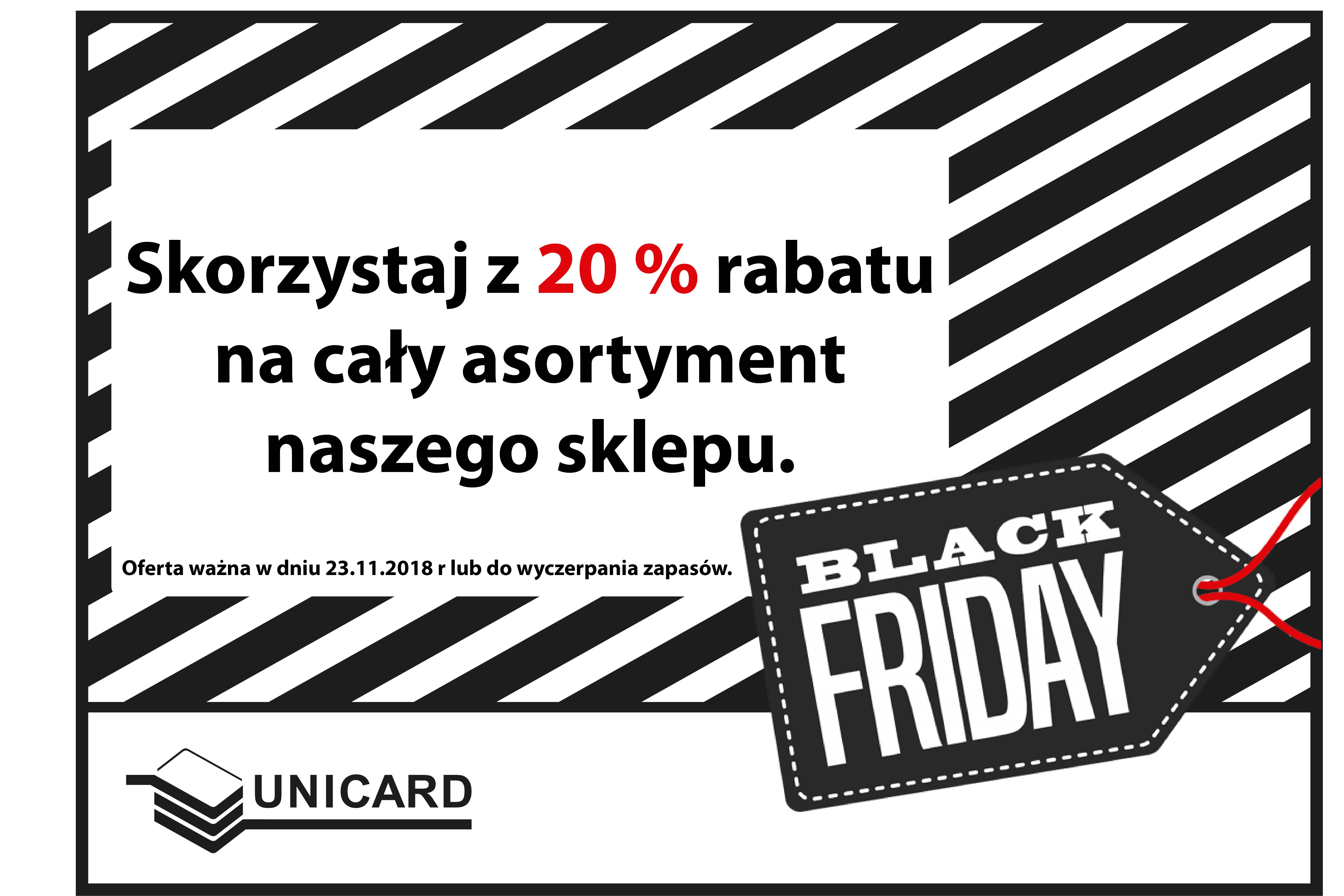 Black Friday w UNICARD