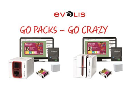 W pakiecie taniej! Z zestawem Evolis GO Pack oszczędzasz do 290€