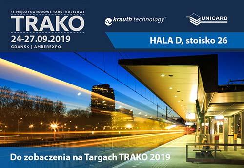 Spotkajmy się na Targach TRAKO 2019
